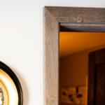 Menuiserie George porte intérieure Chalet Gerardmer finition rustique