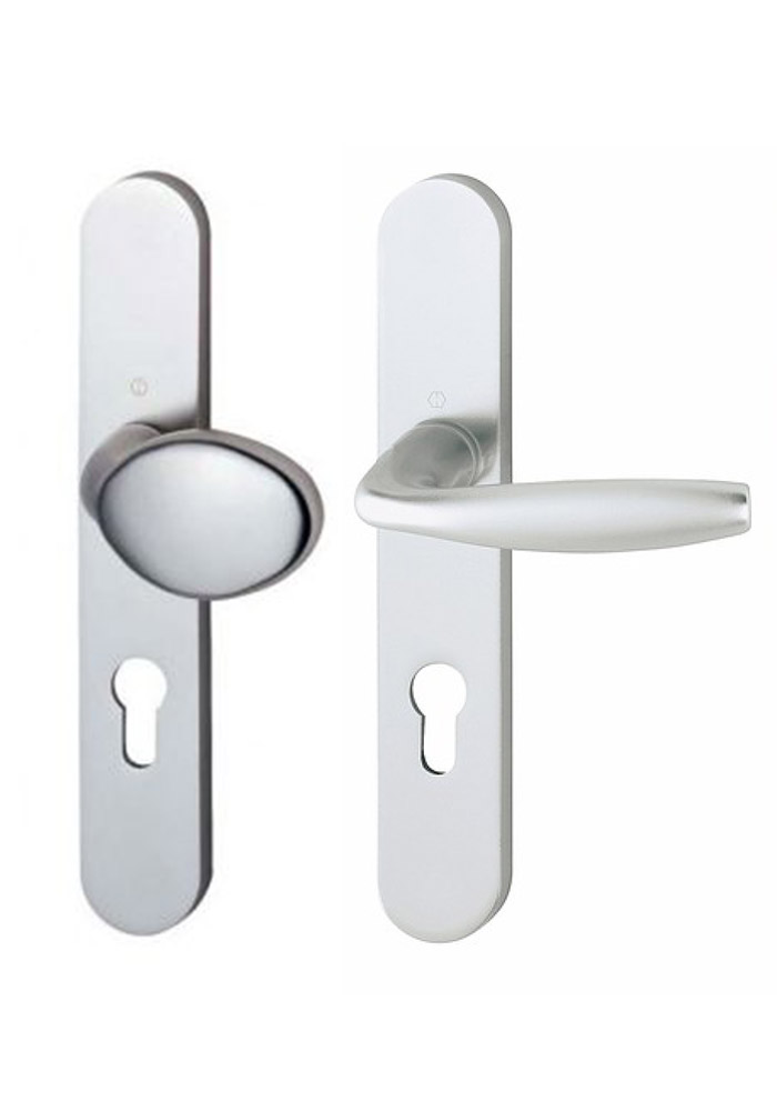 poignées de porte intérieure bouton fixe