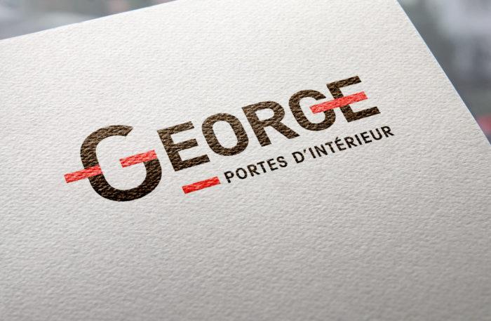 Menuiserie George nouvelle identité visuelle par Lézards Création